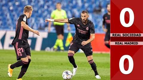 Real Sociedad 0-0 Real Madrid (Vòng 2 La Liga 2020/21)