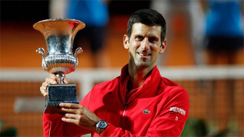 Djokovic lập kỷ lục vô địch Masters nhiều nhất