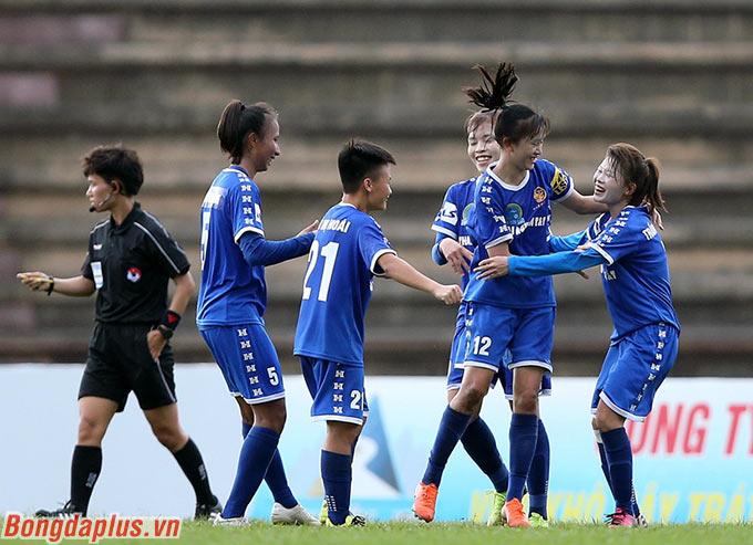 Dù để Lê Thu Thanh Hương gỡ hòa chung cuộc 3-3 ở cuối trận nhưng trận đấu này cũng có thể xem là kết quả tích cực với Thái Nguyên T&T