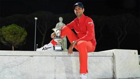 Djokovic bỏ xa Nadal, Federer về số danh hiệu lớn