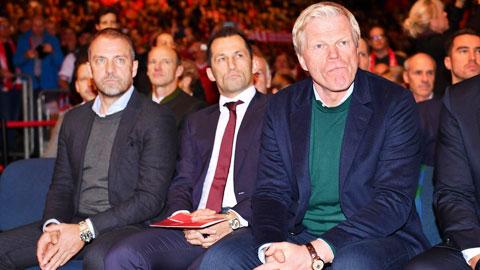 Bayern bất đồng nội bộ Kahn và Flick