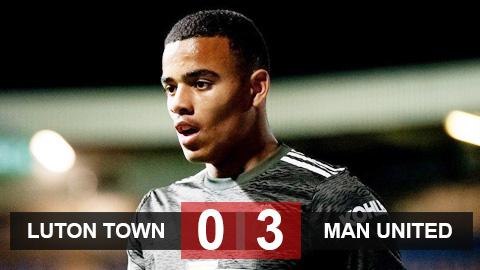 Kết quả Luton Town 0-3 M.U: Greenwood tỏa sáng rực rỡ, M.U thắng trận đầu tiên ở mùa 2020/21
