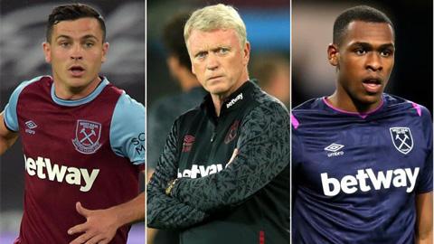 David Moyes và 2 cầu thủ West Ham dính COVID-19 ngay trước khi ra sân