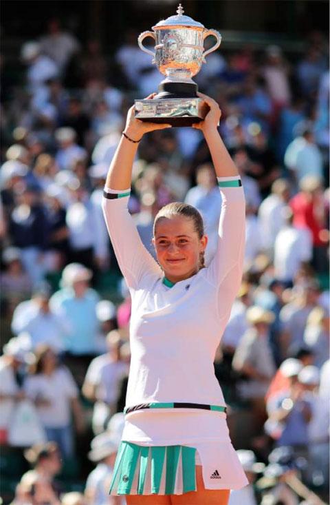 Jelena Ostapenko vô địch Roland Garros 2017