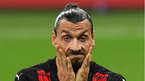 Nhiễm COVID-19, Ibra lỡ trận đấu tới của Milan ở Europa League