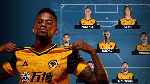 Wolves có thể xếp 1 đội hình gồm toàn cầu thủ Bồ Đào Nha
