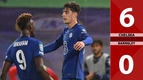 Chelsea 6-0 Barnsley (Vòng 3 Carabao Cup 2020/21)