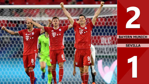Bayern Munich 2-1 Sevilla (CK Siêu Cúp Châu Âu 2020)