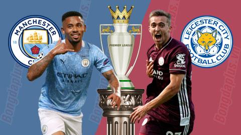 Nhận định bóng đá Man City vs Leicester, 22h30 ngày 27/9: 'Chôn xác' bầy cáo