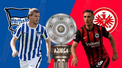 Nhận định bóng đá Hertha Berlin vs Frankfurt, 01h30 ngày 26/9: Khó bẫy