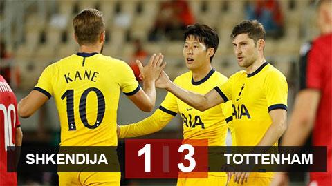 Kết quả Shkendija 1-3 Tottenham: Sàn diễn của Son