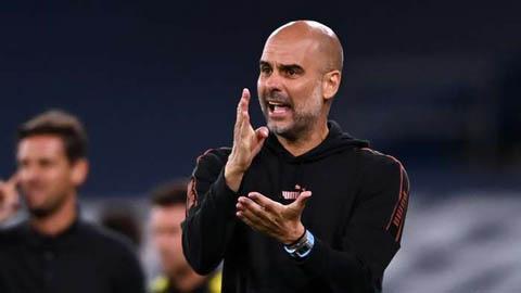 Guardiola: 'Man City chỉ còn 13 người lành lặn cho màn so tài với Leicester'