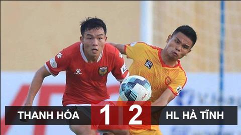 Kết quả Thanh Hóa 1-2 Hồng Lĩnh Hà Tĩnh: Đội bóng của bầu Đệ rơi xuống nhóm nguy hiểm