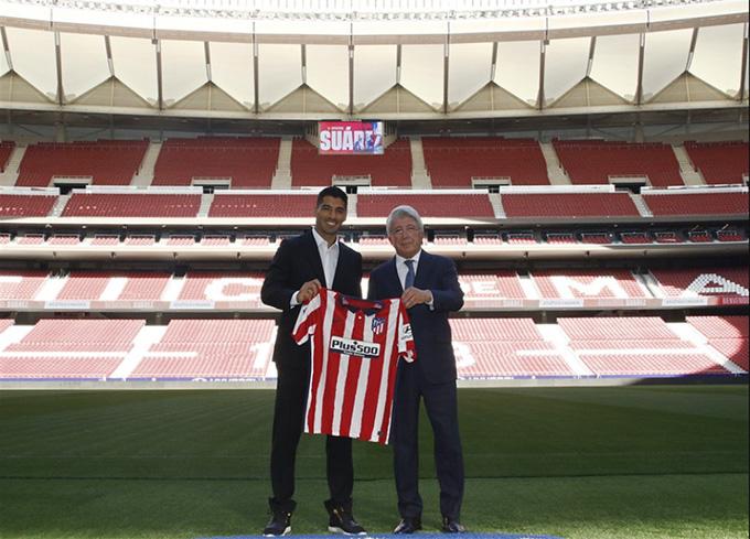 Suarez vượt qua buổi kiểm tra y tế để ký hợp đồng với Atletico