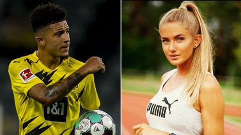 Nữ VĐV quyến rũ nhất thế giới giúp Dortmund giữ chân Sancho?