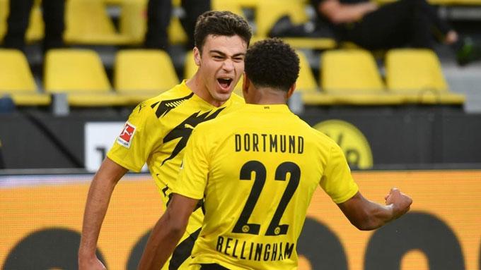 Reyna và Bellingham là 2 sao trẻ mới nhất đang được Dortmund mài dũa