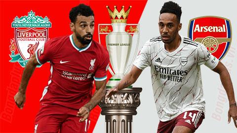 Lịch phát sóng bóng đá hôm nay 28/9: Liverpool vs Arsenal