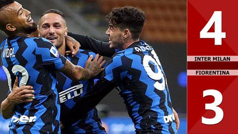 Inter Milan 4-3 Fiorentina (Vòng 2 Serie A 2020/21)