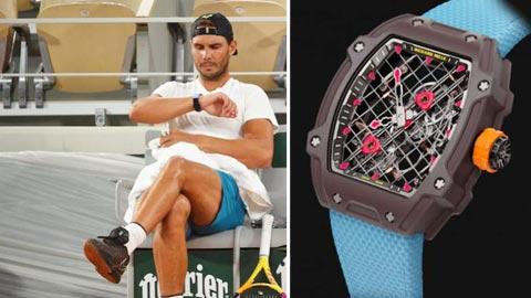 Nadal sắm đồng hồ 'của độc'