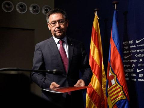 Chủ tịch Bartomeu vẫn đối diện với quá nhiều chỉ trích tại Barca