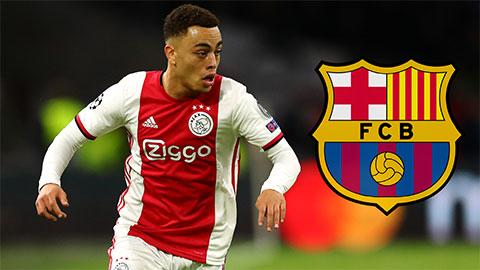 Barca đánh bại Bayern, giành được Sergino Dest