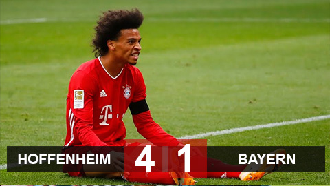 Hoffenheim 4-1 Bayern: Thua sốc Hoffenheim, Bayern đứt mạch thắng liên tiếp ấn tượng