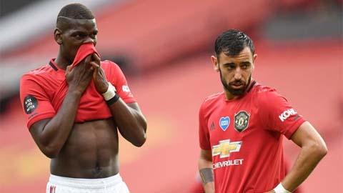 Pogba & Bruno cùng đá chính là sai lầm của M.U