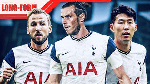 Bổ sung Bale, hàng công Tottenham vẫn cùn nhất Big Six