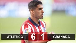 Suarez có 2 bàn và 1 kiến tạo trong 20 phút, Atletico ra quân đại thắng
