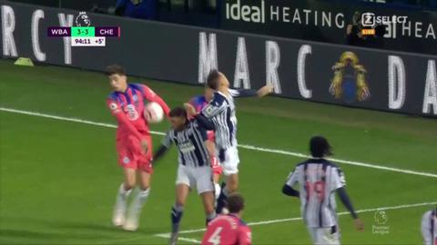 Havertz dùng tay chơi bóng trong bàn gỡ hòa của Chelsea