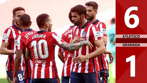Atletico 6-1 Granada (vòng 1 La Liga 2020/21)
