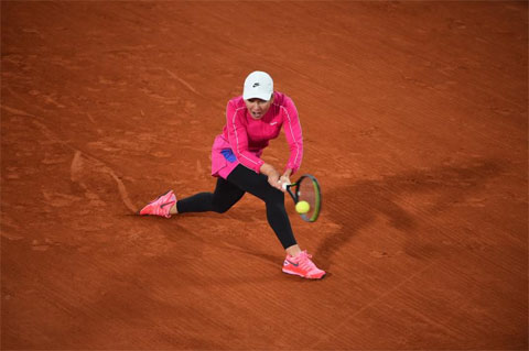 Kể từ đầu năm đến nay, Simona Halep đã giành được ba danh hiệu WTA, lần lượt ở Dubai, Prague và Rome