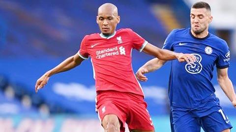 Liverpool vs Arsenal: Fabinho 'chết vai' trung vệ