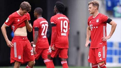 5 lý do Bayern thua sốc Hoffenheim, đứt mạch 24 trận toàn thắng