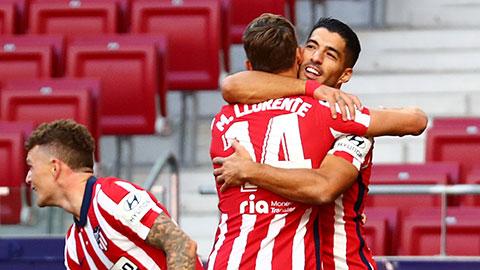 Suarez lập kỷ lục ngay trong trận ra mắt Atletico