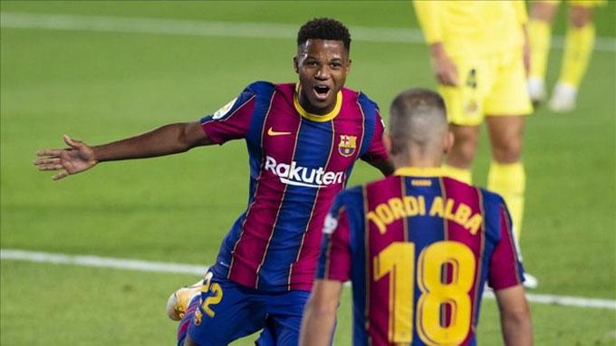 Fati tỏa sáng rực rỡ trước Villarreal