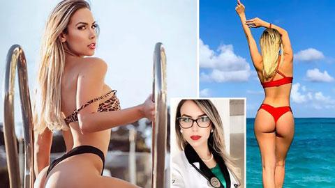 Nữ bác sĩ không thể tìm được việc sau khi tham gia Miss BumBum