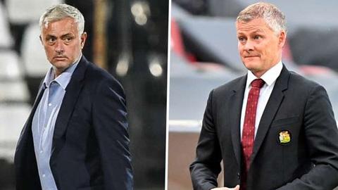 Mourinho đáp trả Solskjaer cực gắt sau khi Tottenham bị cầm hòa