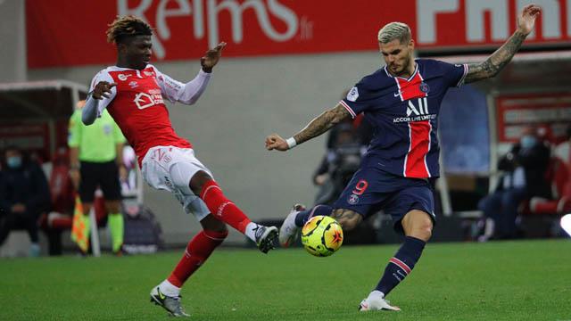 Icardi đã có ngày thi đâu ấn tượng trước Reims