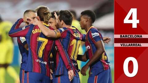 Barcelona 4-0 Villarreal (Vòng 3 La Liga 2020/21)