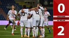 Crotone 0-2 AC Milan (Vòng 2 Serie A 2020/21)