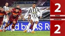 Roma 2-2 Juventus (Vòng 2 Serie A 2020/21)