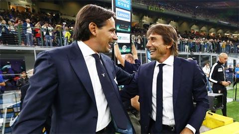 Conte và Inzaghi, giữa biển trời kỷ niệm