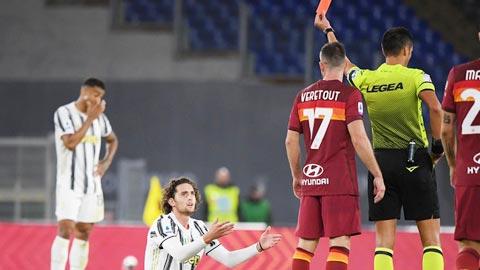 Juve đã hết được trọng tài ưu ái?