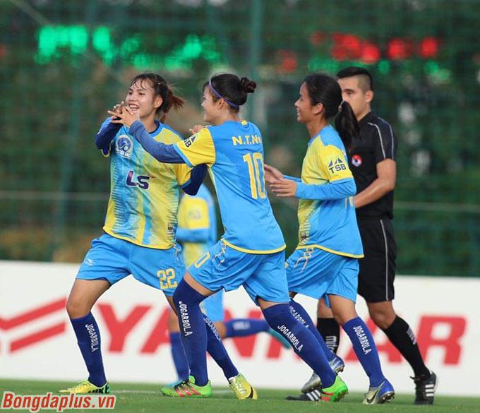 Chung cuộc 2 đội hòa nhau 2-2. Sơn La có điểm số đầu tiên ở giải