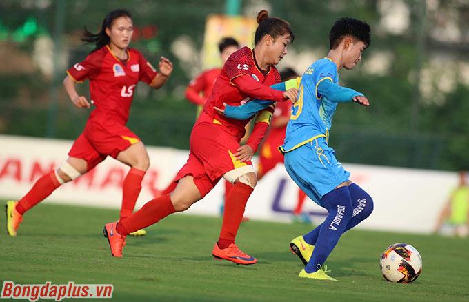 Ở trận đấu còn lại, Sơn La cũng có điểm số đầu tiên cho mình