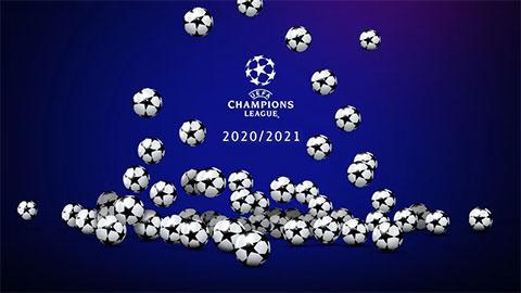 Lễ bốc thăm chia bảng Champions League 2020/21 diễn ra khi nào, ở đâu?