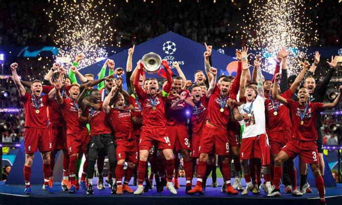 Liverpool đang là nhà vô địch Champions League