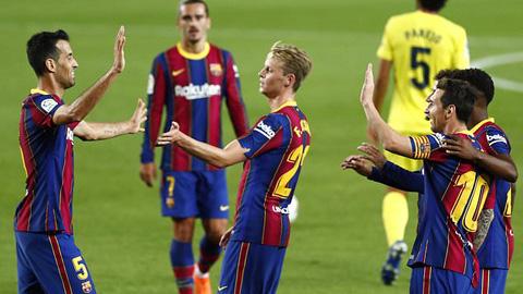 Messi muốn Barca là một tập thể đoàn kết