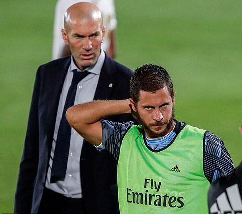 Hazard vẫn được Zidane tin tưởng